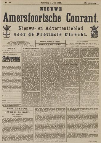 Nieuwe Amersfoortsche Courant 1914-07-04