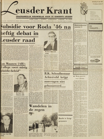 Leusder Krant 1971-06-24