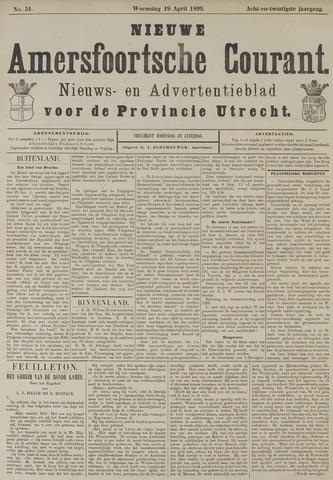 Nieuwe Amersfoortsche Courant 1899-04-19