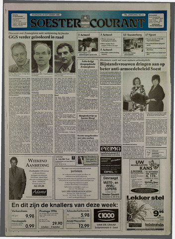 Soester Courant 1999-09-29