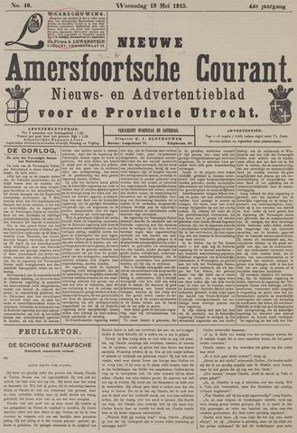 Nieuwe Amersfoortsche Courant 1915-05-19