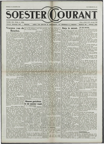 Soester Courant 1958-08-12