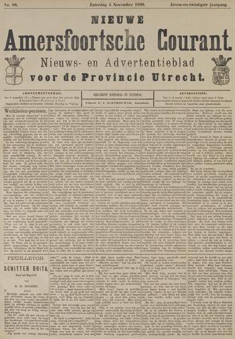 Nieuwe Amersfoortsche Courant 1898-11-05