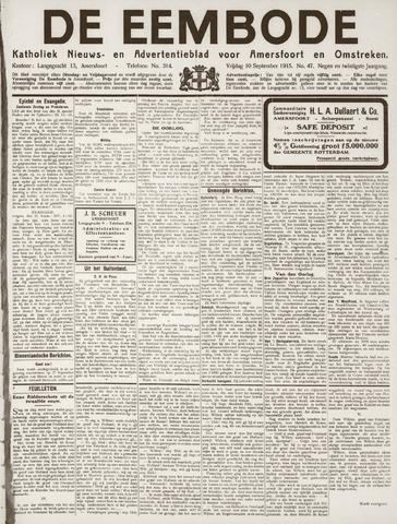 De Eembode 1915-09-10