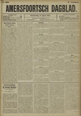 Amersfoortsch Dagblad 1907-04-25