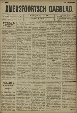Amersfoortsch Dagblad 1911-02-28
