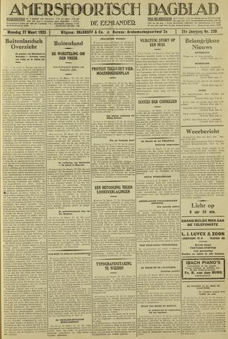 Amersfoortsch Dagblad / De Eemlander 1933-03-27