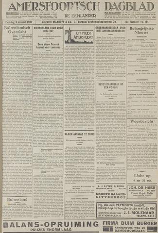 Amersfoortsch Dagblad / De Eemlander 1932-01-09