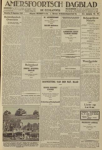 Amersfoortsch Dagblad / De Eemlander 1932-08-22