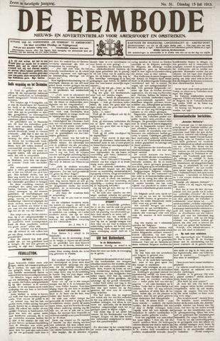 De Eembode 1913-07-15