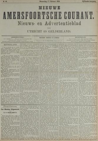 Nieuwe Amersfoortsche Courant 1886-02-17