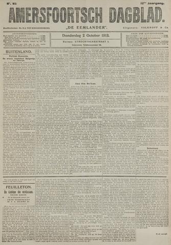 Amersfoortsch Dagblad / De Eemlander 1913-10-02