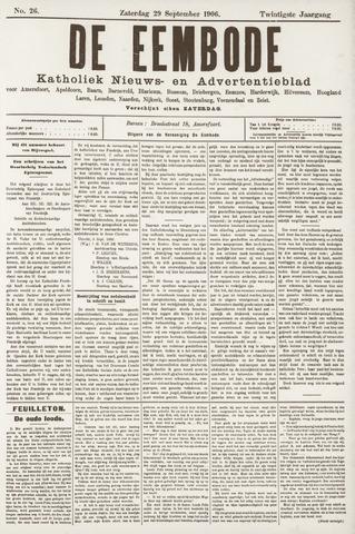 De Eembode 1906-09-29