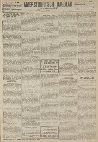 Amersfoortsch Dagblad / De Eemlander 1922-08-12