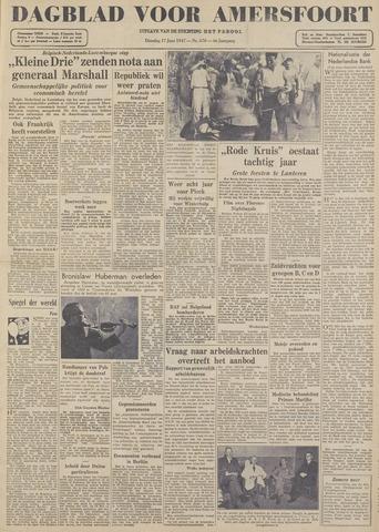 Dagblad voor Amersfoort 1947-06-17