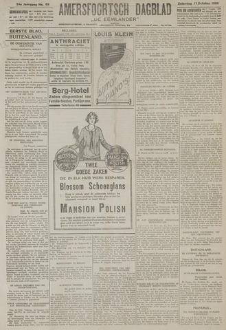 Amersfoortsch Dagblad / De Eemlander 1925-10-17