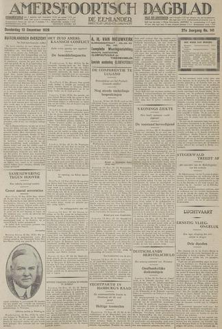 Amersfoortsch Dagblad / De Eemlander 1928-12-13