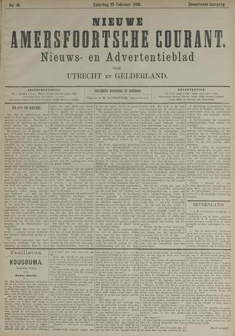 Nieuwe Amersfoortsche Courant 1888-02-25
