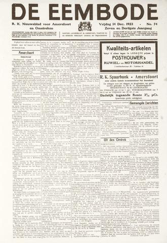 De Eembode 1923-12-14