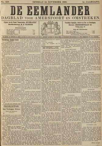 De Eemlander 1908-11-24
