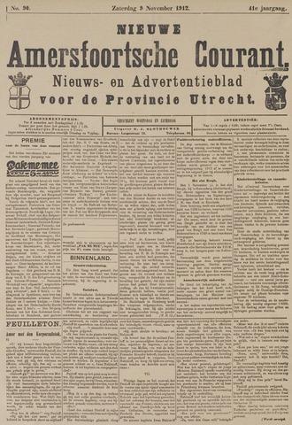 Nieuwe Amersfoortsche Courant 1912-11-09