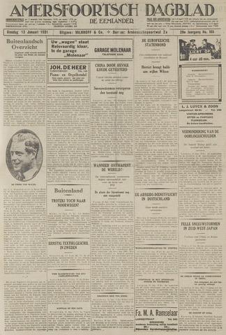 Amersfoortsch Dagblad / De Eemlander 1931-01-13