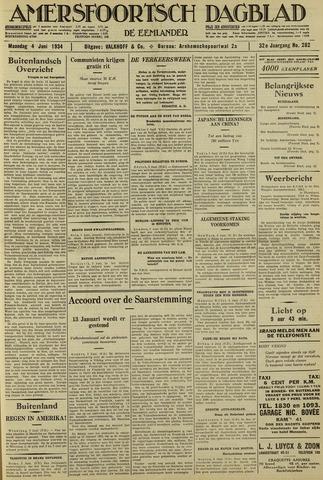 Amersfoortsch Dagblad / De Eemlander 1934-06-04