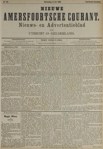 Nieuwe Amersfoortsche Courant 1885-07-08