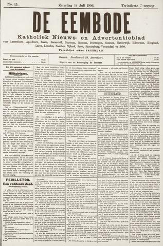 De Eembode 1906-07-14