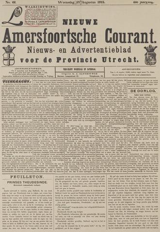 Nieuwe Amersfoortsche Courant 1915-08-18