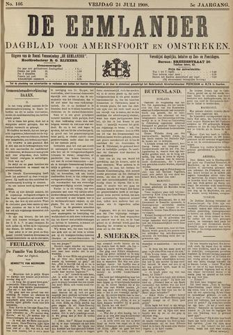 De Eemlander 1908-07-24