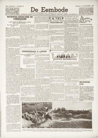 De Eembode 1939-09-22