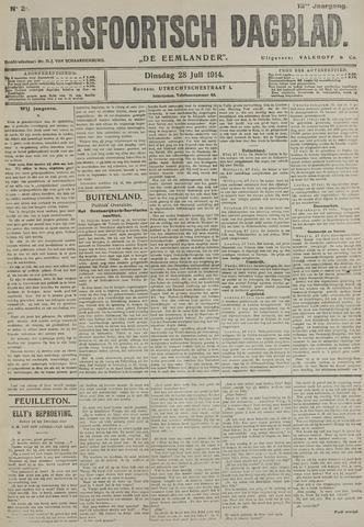 Amersfoortsch Dagblad / De Eemlander 1914-07-28