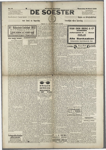 Soester Courant 1925-03-28