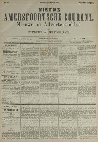 Nieuwe Amersfoortsche Courant 1889-02-13