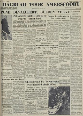 Dagblad voor Amersfoort 1949-09-19