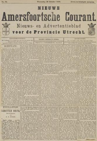 Nieuwe Amersfoortsche Courant 1898-10-26