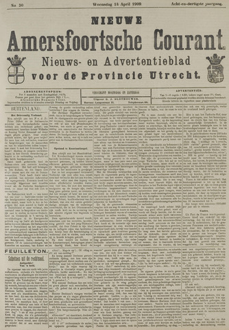 Nieuwe Amersfoortsche Courant 1909-04-14