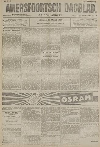 Amersfoortsch Dagblad / De Eemlander 1917-03-27