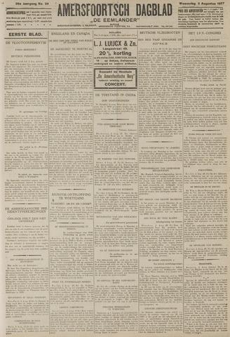 Amersfoortsch Dagblad / De Eemlander 1927-08-03