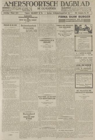 Amersfoortsch Dagblad / De Eemlander 1931-03-07