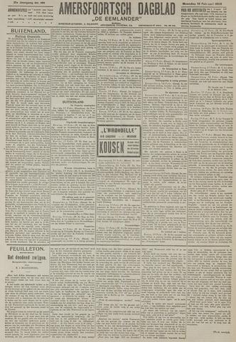 Amersfoortsch Dagblad / De Eemlander 1923-02-19