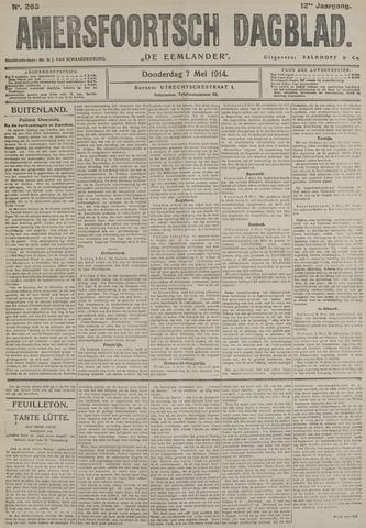 Amersfoortsch Dagblad / De Eemlander 1914-05-07