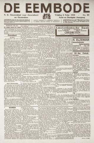 De Eembode 1925-02-06