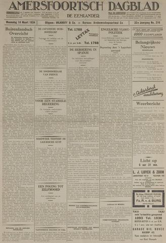 Amersfoortsch Dagblad / De Eemlander 1934-03-14
