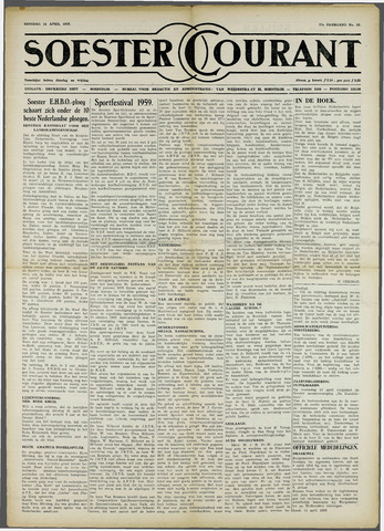 Soester Courant 1959-04-14