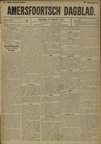 Amersfoortsch Dagblad 1911-02-18