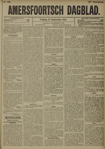 Amersfoortsch Dagblad 1911-09-22