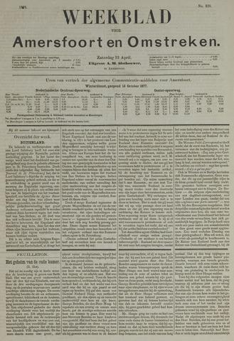 Weekblad voor Amersfoort en Omstreken 1878-04-13