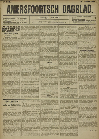 Amersfoortsch Dagblad 1905-06-27
